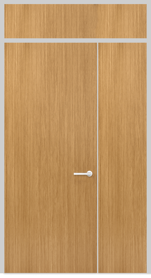 Door Panel with top and side panels