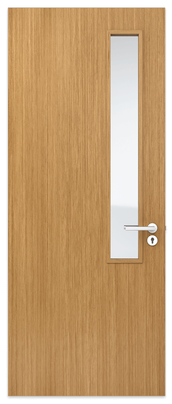 Door Panel with thin Vision Panel