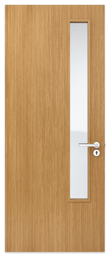 Door Panel with long thin vision panel
