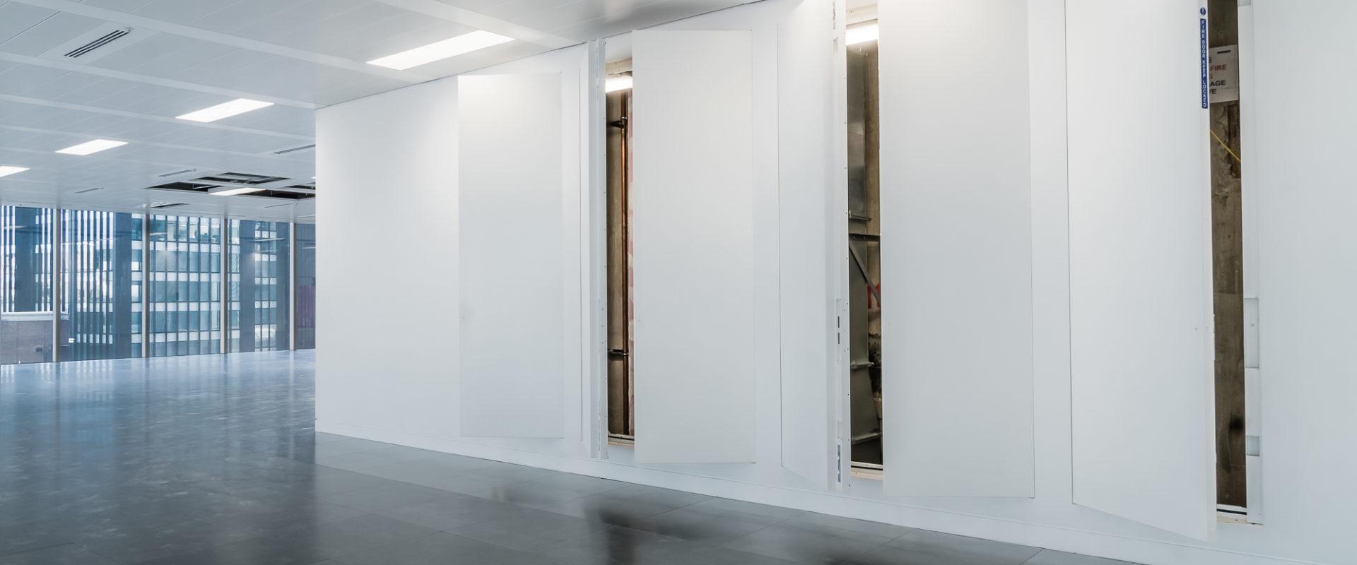 Christo Riser Doors Ajar