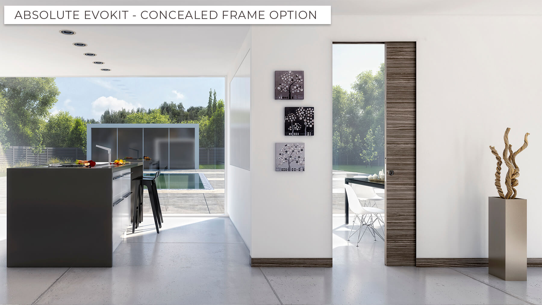 Concealed and Architrave