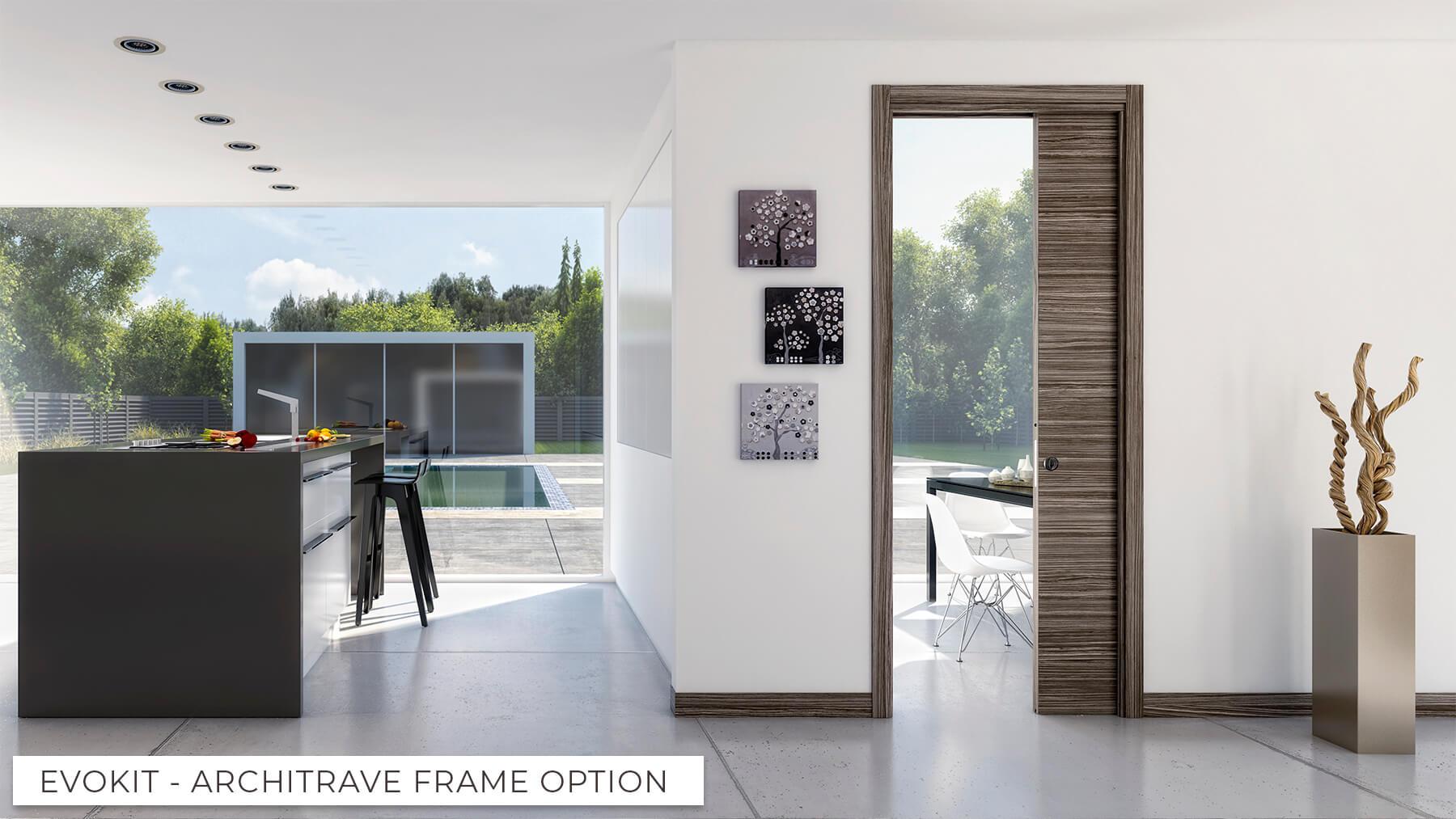Evokit Architrave frame option